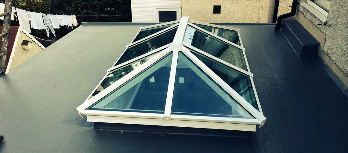 Fibre Glass Flat Roofing by UK Roofs in Surrey
