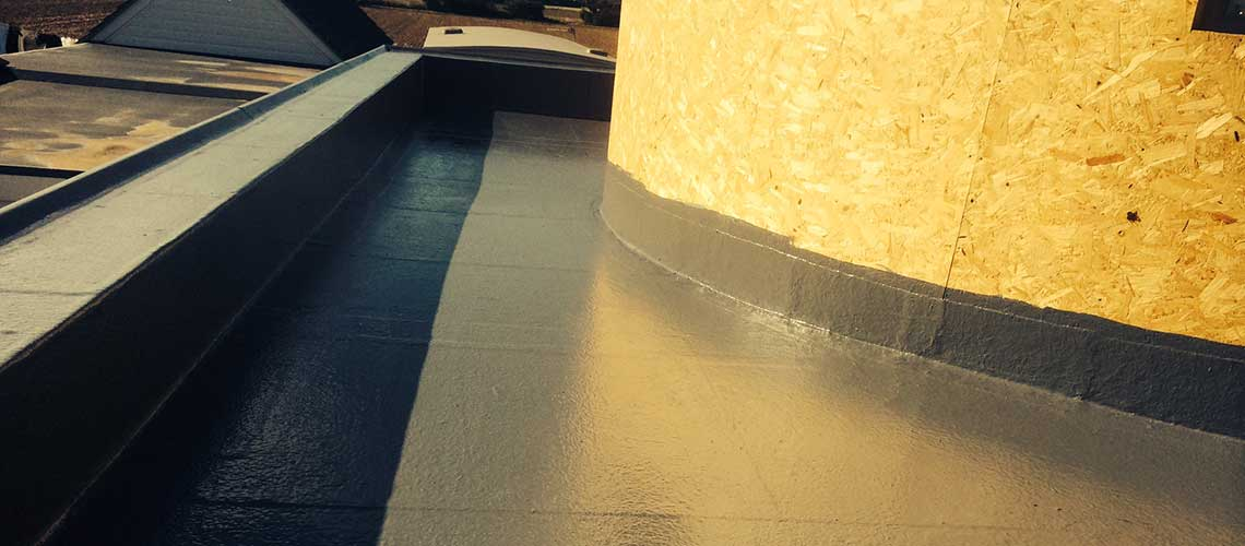 Fibreglass Flat Roof Repairs by UK Roofs, Guildford